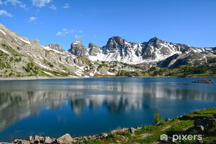 Nálepka Pixerstick Lac d'Allos - Témata