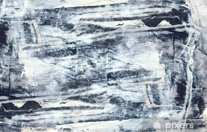 Papier peint vinyle Résumé fond de techniques mixtes ou de texture - Art et création