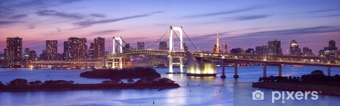 Autocolante Pixerstick Rainbow Bridge in Odaiba Tokyo - Temas