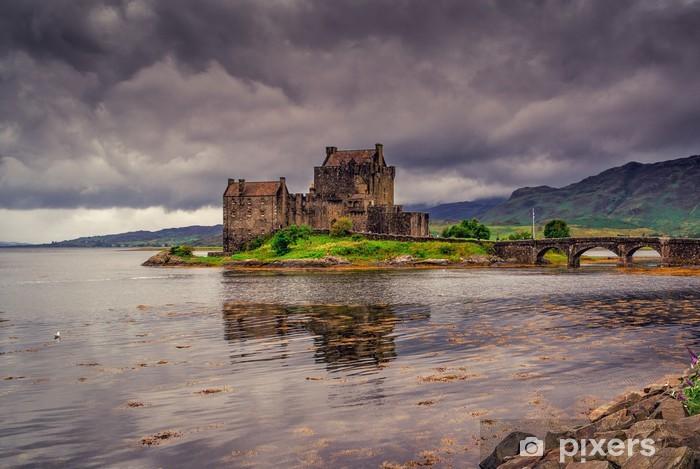 Eilean donan linna majakka skotlanti Vinyyli valokuvatapetti -