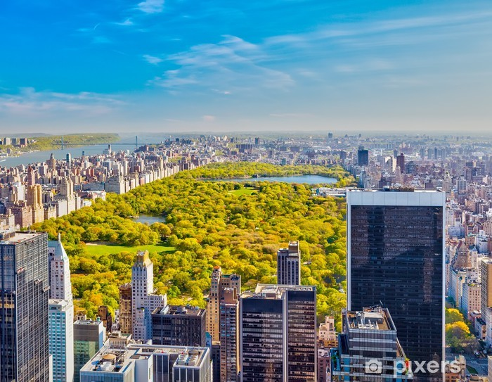 Fototapeta winylowa Widok na Central Park, Nowy Jork - Tematy