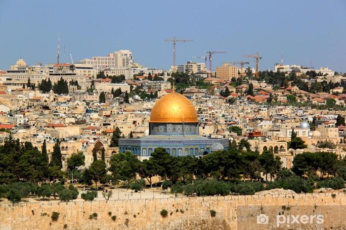 Jerusalem Pixerstick Sticker - The Middle East