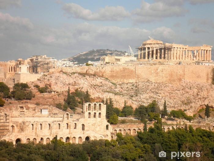 Fotomural Estándar Parthenon de la acrópolis de Atenas Grecia - Temas