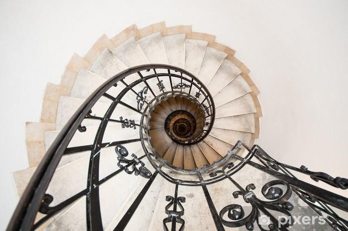 winding staircase Pixerstick Sticker - Sadness