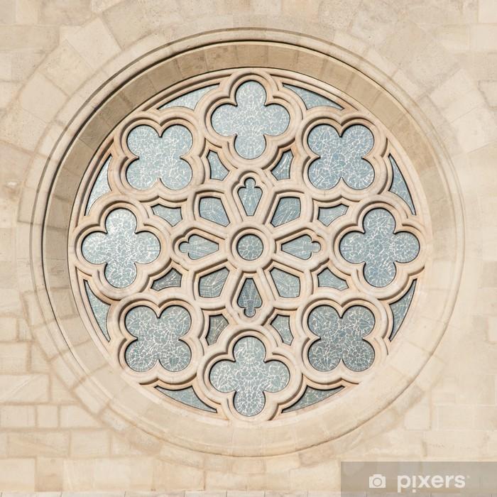 Fototapeta winylowa Okno Maciej Apostoł Kościół w Budapeszcie - Tematy