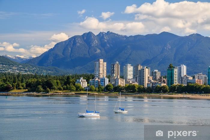 Fototapeta winylowa West End of Vancouver - Pejzaż miejski