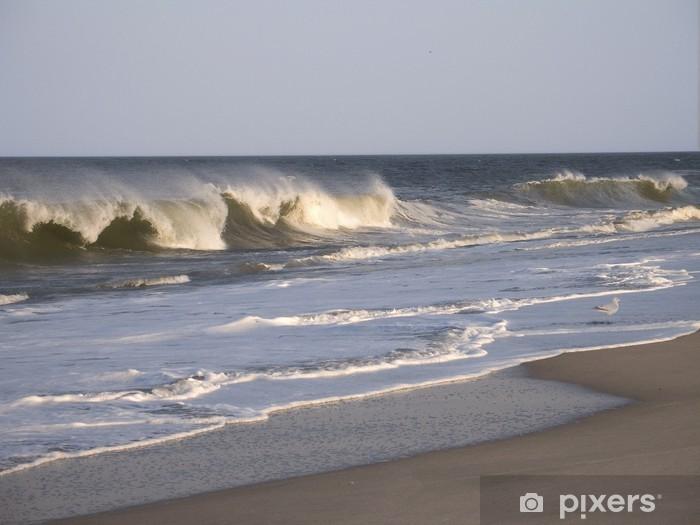 Vinyl Fotobehang Breaker golven - Water
