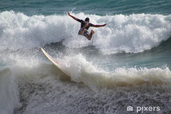 Sticker Pixerstick Surf - Sports individuels