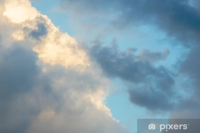 Papier peint vinyle Rainy Nuages Avant Coming Storm - Thèmes