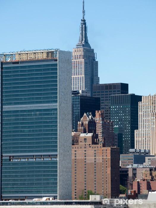 Papier peint vinyle New York City skyline centre - Villes américaines