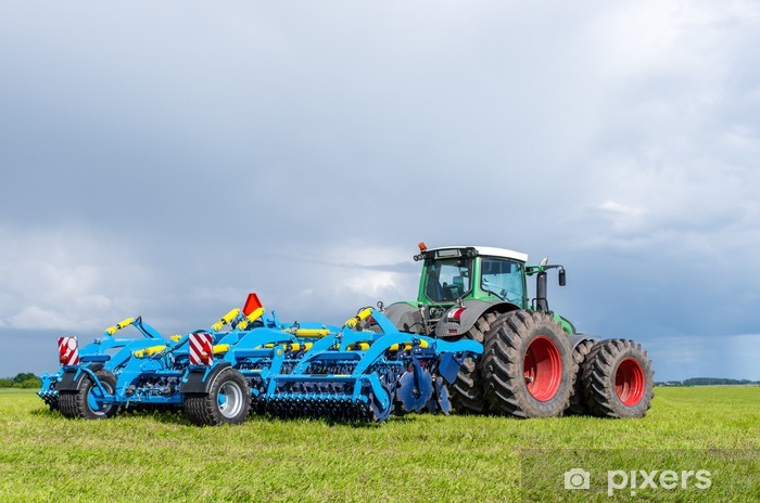 Tractor Vinyl Wall Mural - Themes