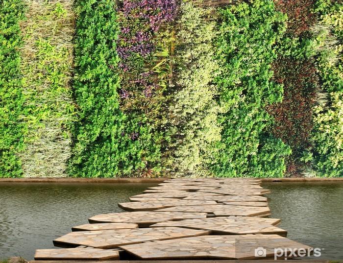Papier Peint Fleurs Et Mur Vegetal Jardin Vertical Pixers Nous