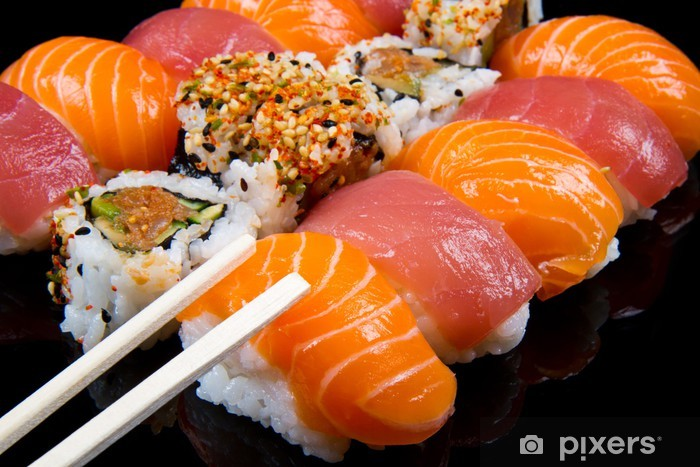sushi and rolls Vinyl Wall Mural - Sushi