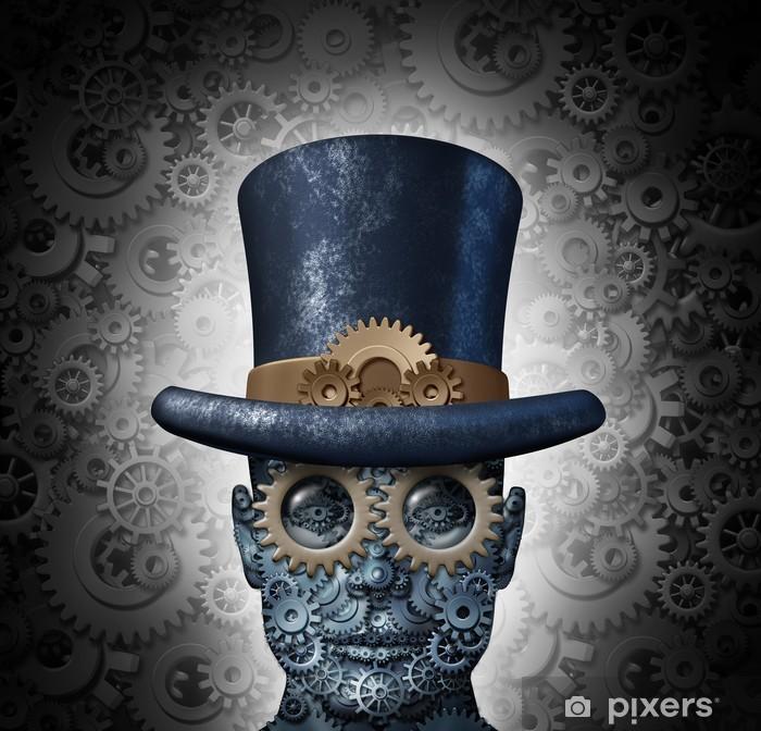 Fototapeta winylowa Science fiction steampunk - Steampunk