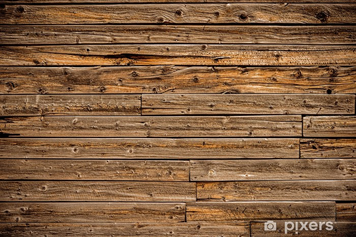 Planks Background Vinyl Wall Mural - Styles
