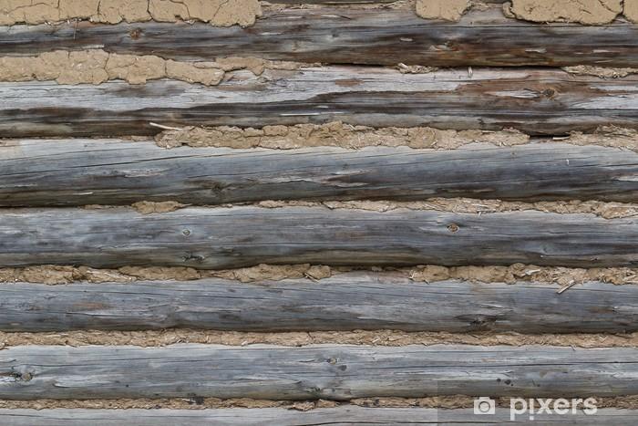 Carta da Parati in Vinile Tronchi, rivestiti con una soluzione di - Texture