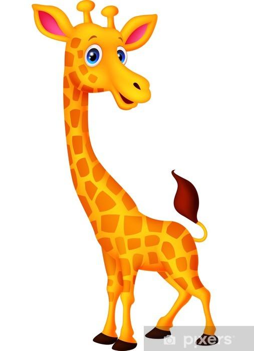 Papier Peint Autocollant Dessin Girafe Pixers Nous Vivons Pour Changer