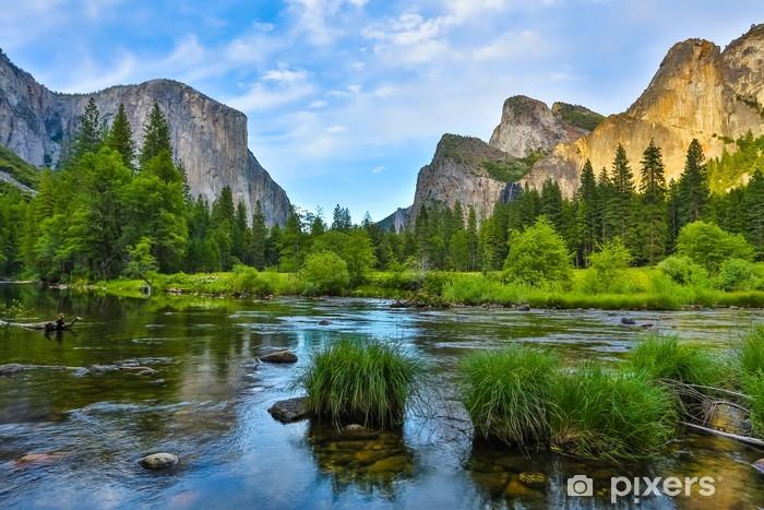 Fototapeta samoprzylepna Park Narodowy Yosemite o zachodzie słońca - Tematy