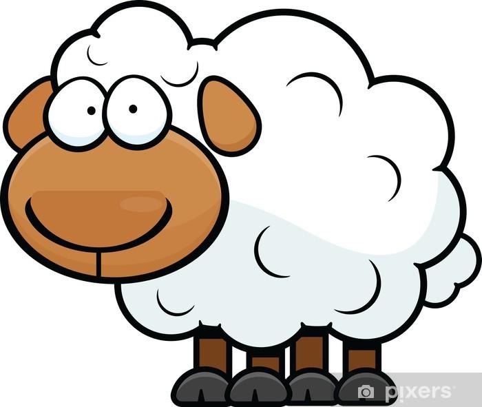 Papier Peint Dessin Mouton Pixers Nous Vivons Pour Changer