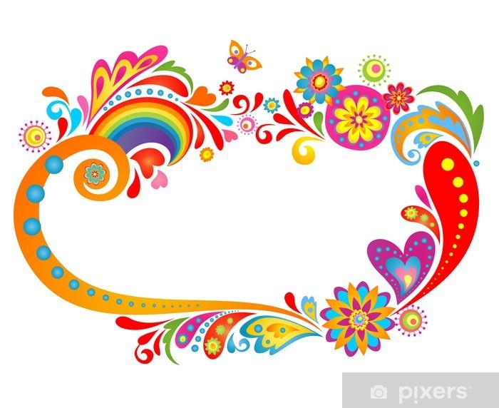 Naklejka Pixerstick Letni floral - Święta Narodowe