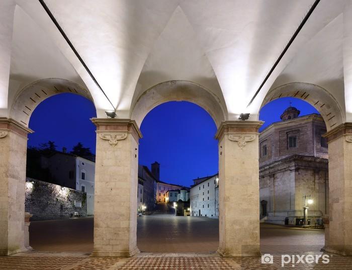Vinylová fototapeta Portico del Duomo, Spoleto - Vinylová fototapeta