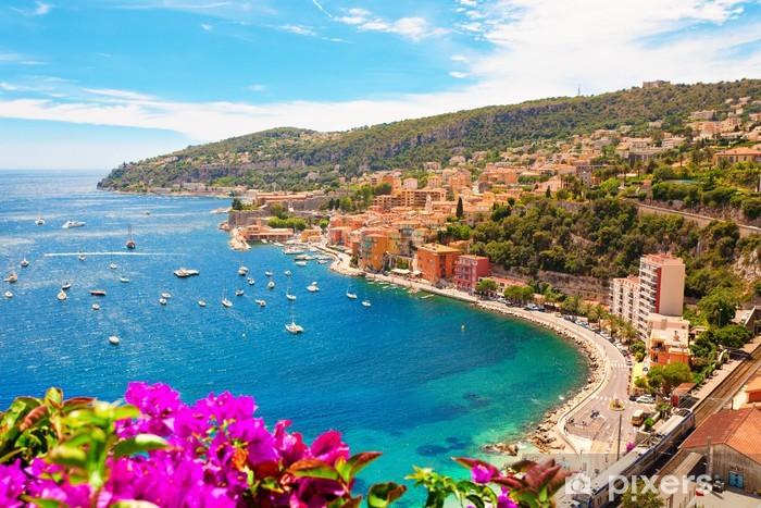 Papier peint vinyle Luxury Resort, Villefranche sur Mer, French Riviera, Côte d'Azur - Europe