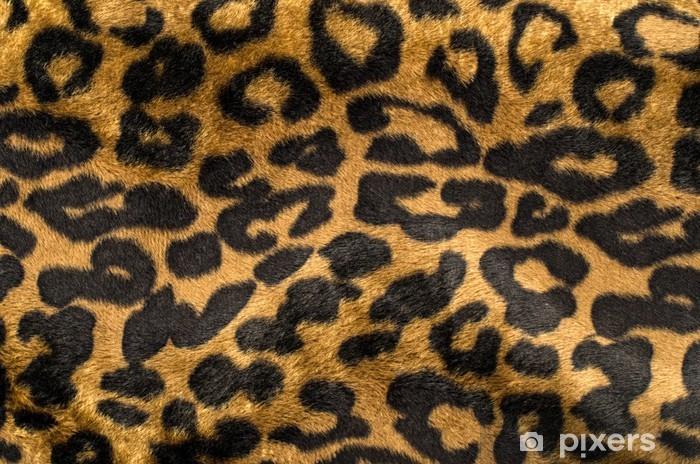 Carta Da Parati Animalier.Carta Da Parati In Vinile Brown E Nero Modello Di Leopardo Pelliccia Stampa Animalier Come Sfondo