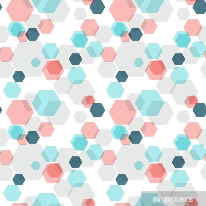 Plakát Geometrické hexagon bezešvé vzor - Pozadí
