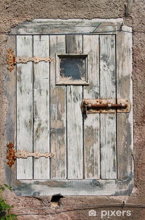 Fototapeta winylowa Ancient drewniane drzwi - Przemysł ciężki