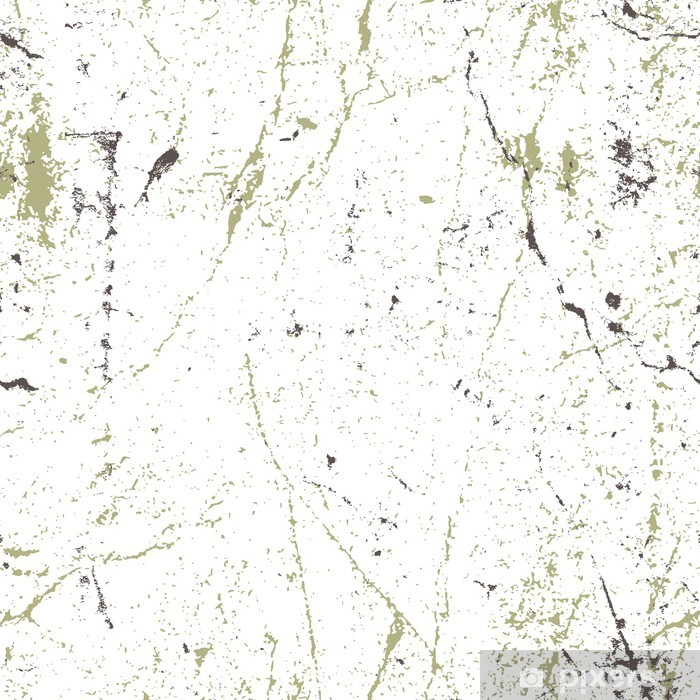 Seamless aged rusty grunge texture, vector background  Wall Mural - Vinyl