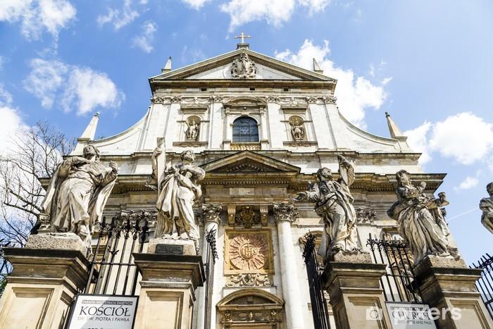 Fototapeta winylowa Kościół Świętych Piotra i Pawła w starej dzielnicy miasta - Europa