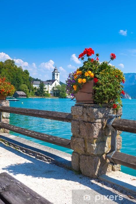 Fototapeta winylowa Widok Sankt Wolfgang nabrzeża - Europa