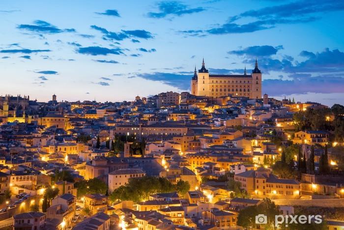 Fotomural Estándar Crepúsculo en Toledo, España - Situaciones de negocios