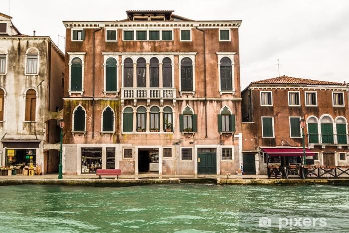 Papier peint vinyle Bidonville à Venise - Villes européennes