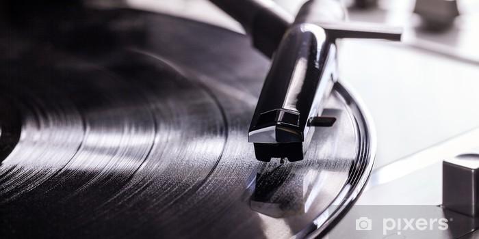 Vinylová fototapeta Gramofon - Vinylová fototapeta