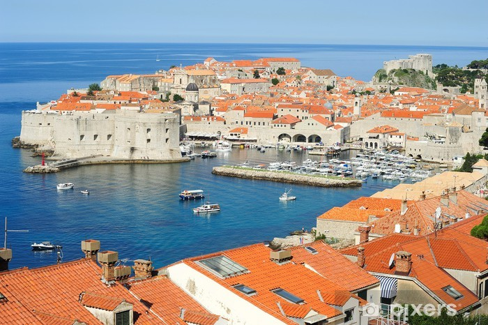 The old town of Dubrovnik Vinyl Wall Mural - Europe