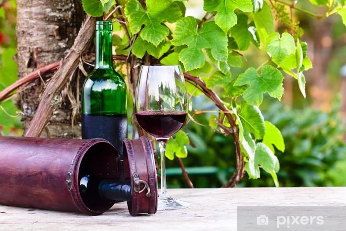 Nálepka Pixerstick Červené víno - Témata