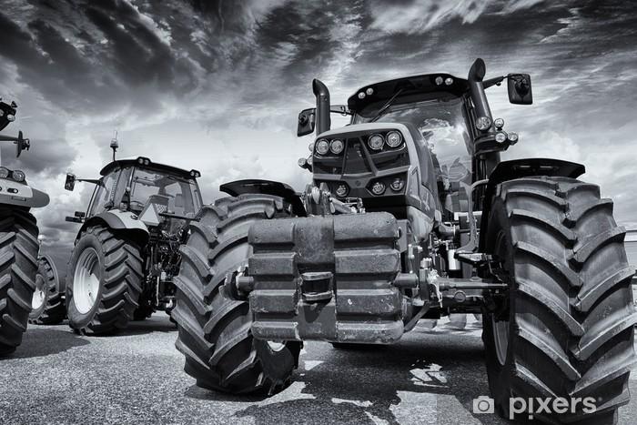 Pixerstick Aufkleber Riesen Landwirtschaft Traktoren und Reifen - Themen
