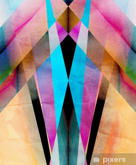 abstract background Pixerstick Sticker - Themes