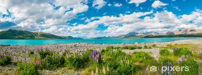 Vinyl Fotobehang Lake Tekapo - Thema's
