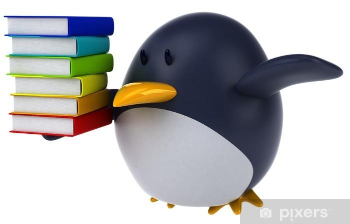 Vinyl-Fototapete Pinguin - Zeichen und Symbole