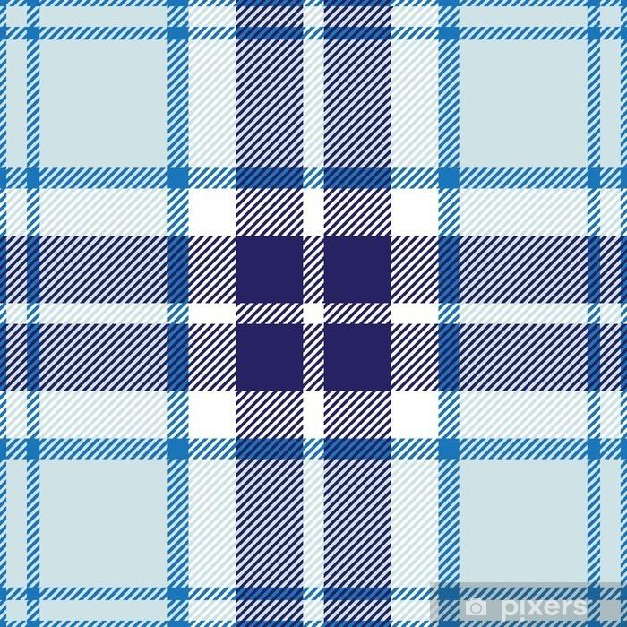 Fotomural Autoadhesivo Vector patrón de tela escocesa de tartán sin fisuras - Texturas