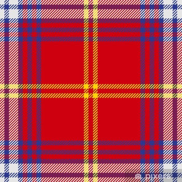 Fotomural Estándar Vector patrón de tela escocesa de tartán sin fisuras - Recursos gráficos
