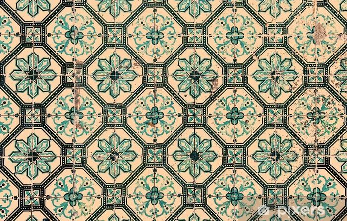 Portugese Tegels Vinyl : Fotobehang azulejos de traditionele portugese tegels u pixers