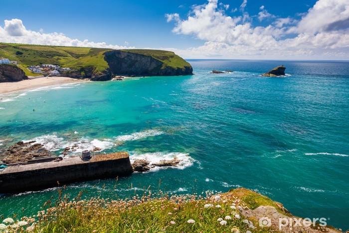 Vinyl-Fototapete Portreath Cornwall England - Europa