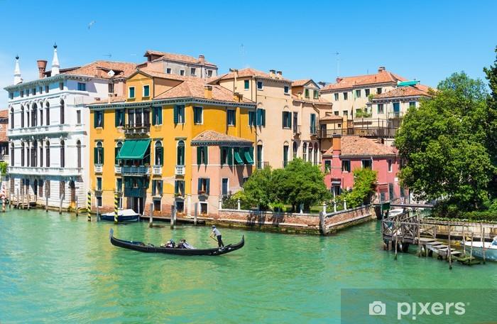 Naklejka Pixerstick Widok na Canal Grande w Wenecji, Włochy - Miasta europejskie