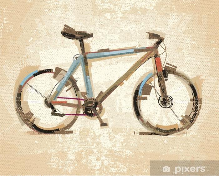 Fototapeta winylowa Rocznika rower - Tematy