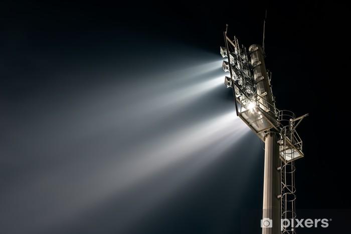 Fototapeta winylowa Światła stadionów od tyłu - Elektryczność