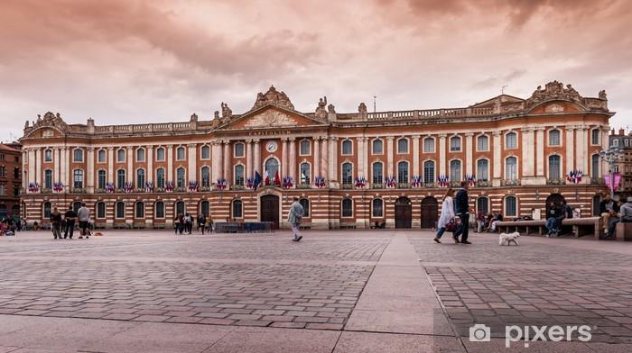 Papier peint vinyle Place du Capitole à Toulouse - Vacances