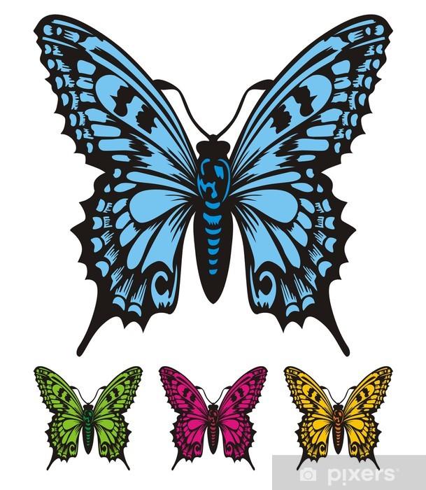 Vinyl-Fototapete Schmetterlings-Schönheit - Sonstige Gefühle